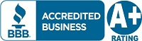 We are a BBB A+ Accredited Business